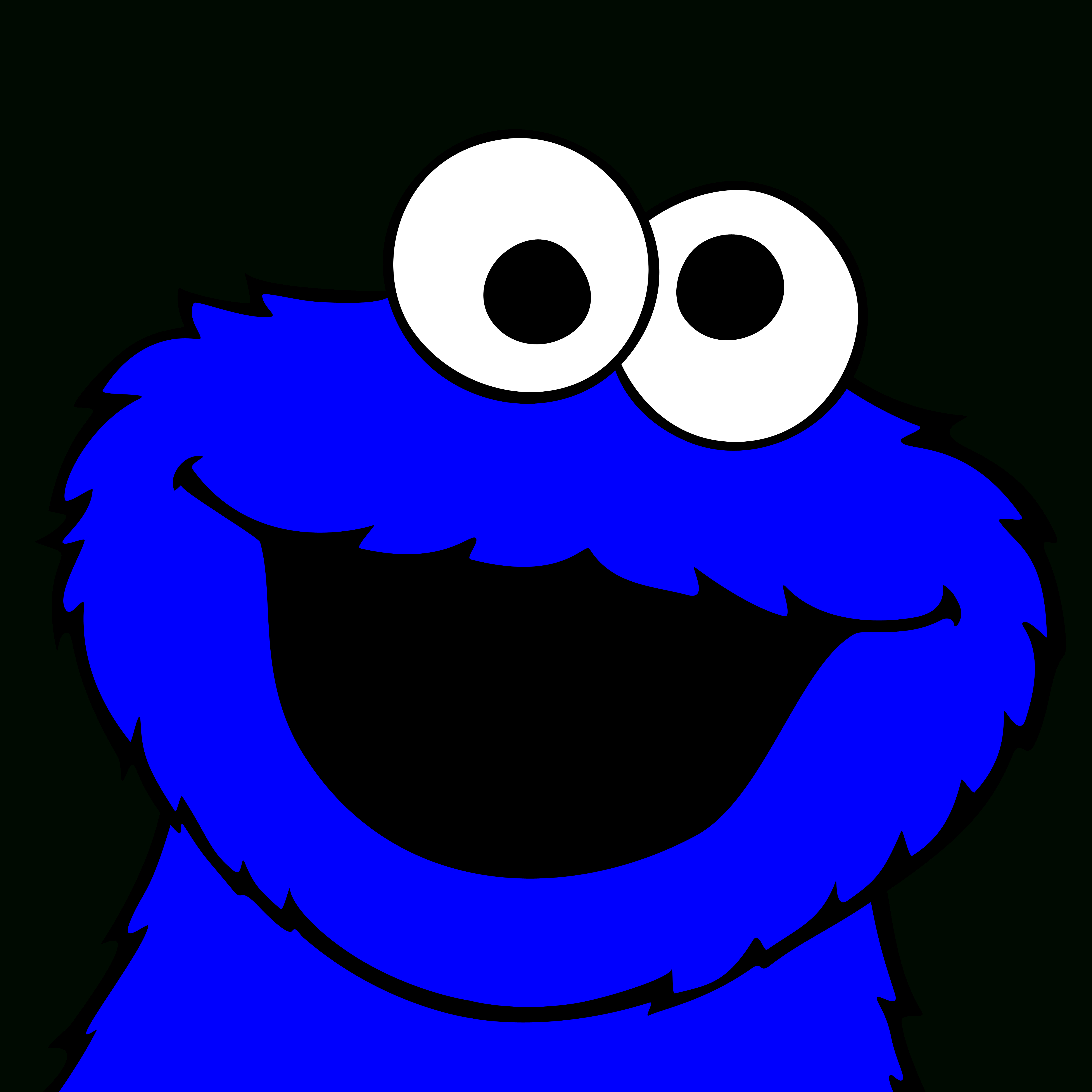 Cookie Monster Printables | Free Download Best Cookie Monster - Free Printable Cookie Monster Face