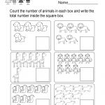 Count And Write Worksheet   Free Kindergarten Math Worksheet For Kids   Free Printable Counting Worksheets