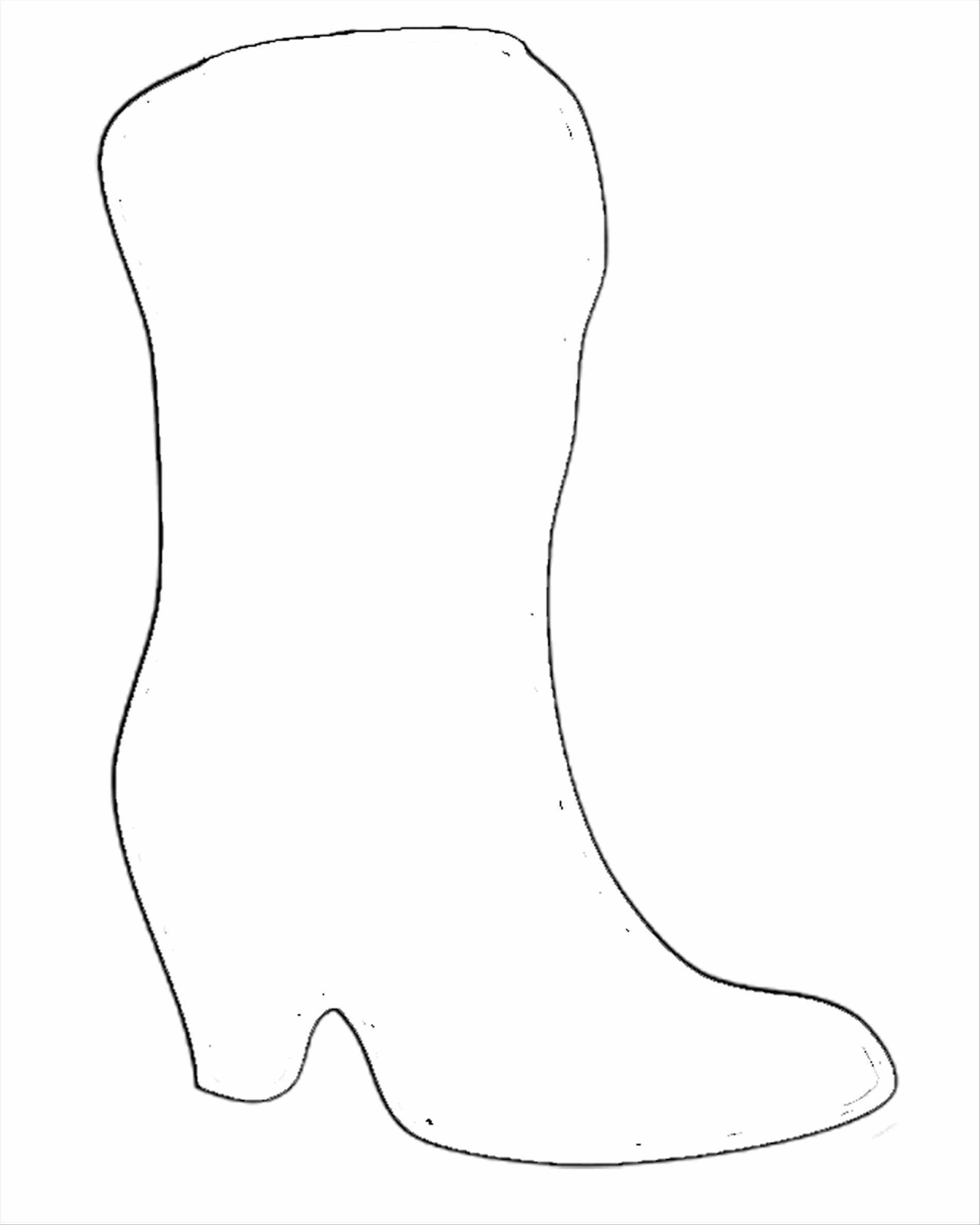 Cowboy Boot Template – Mytemplates - Free Printable Cowboy Boot Stencil