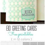 Craftionary   Eid Cards Free Printable