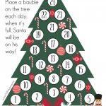 Crafty Christmas Countdown   Free Printable   As They Grow   Christmas Countdown Free Printable