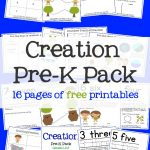 Creation Bible Story For Preschoolers Activity Pack – Mary Martha Mama   Free Printable Stories For Preschoolers