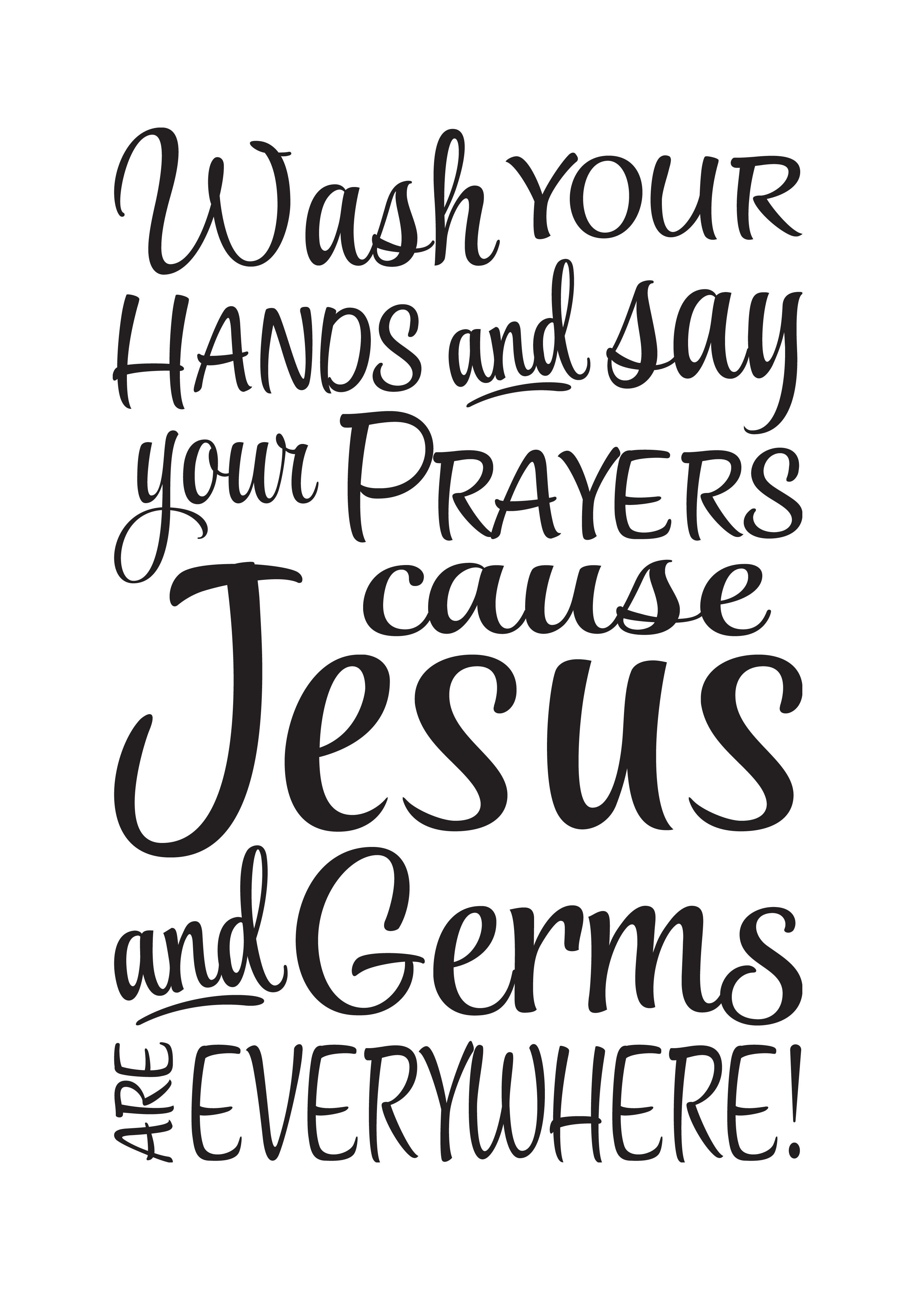 Cricut Bathroom Sayings - Yahoo Search Results Yahoo Image Search - Wash Your Hands And Say Your Prayers Free Printable