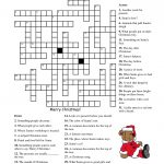 Crosswords For Kids Christmas | K5 Worksheets | Christmas Activity   Free Printable Christmas Crossword Puzzles For Adults