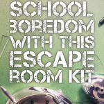 Crush Classroom Boredom With This Hack.   Middle School Language   Printable Escape Room Free