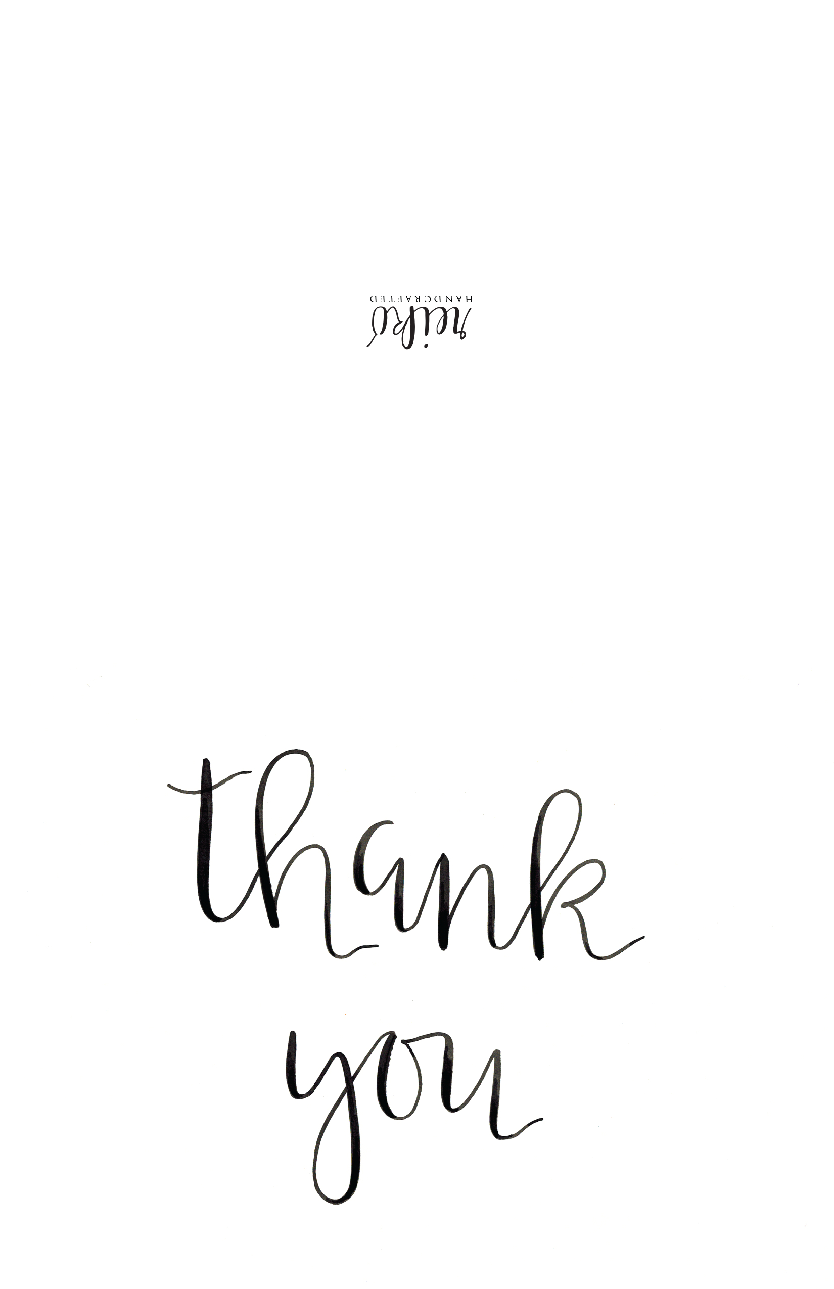 Custom, Specialty Sugar Cookies And Pastries :: Hot Hands Bakery - Free Printable Custom Thank You Cards
