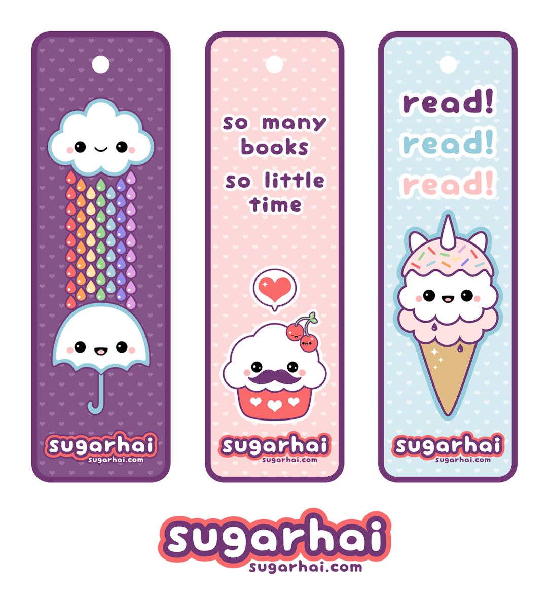 Cute Printable Bookmarks | I Want | Cute Bookmarks, Creative - Anime Bookmarks Printable For Free