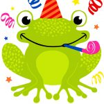 Cute Smiling Frog Birthday Card | Greetings Island   Free Printable Birthday Cards For Kids