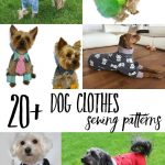 Cutest Paid & Free Printable Dog Clothes Patterns | Sewing & Crafts   Free Printable Dog Pajama Pattern