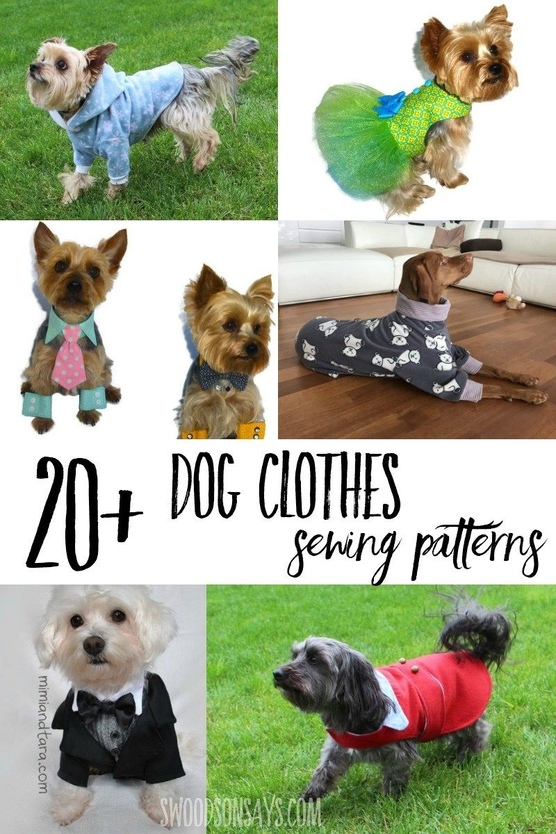 Cutest Paid & Free Printable Dog Clothes Patterns | Sewing & Crafts - Free Printable Dog Pajama Pattern