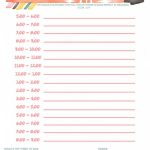 Daily Schedule Free Printable | Planners & Bullet Journals   Free Printable Schedule