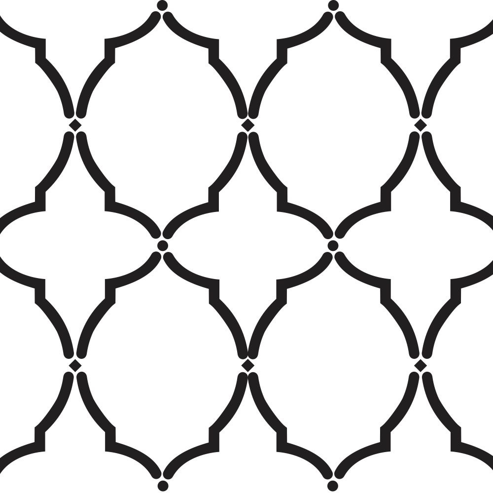 Damask Stencil Printable Free | Simply Awesome Stencils | Stencils - Free Printable Moroccan Pattern