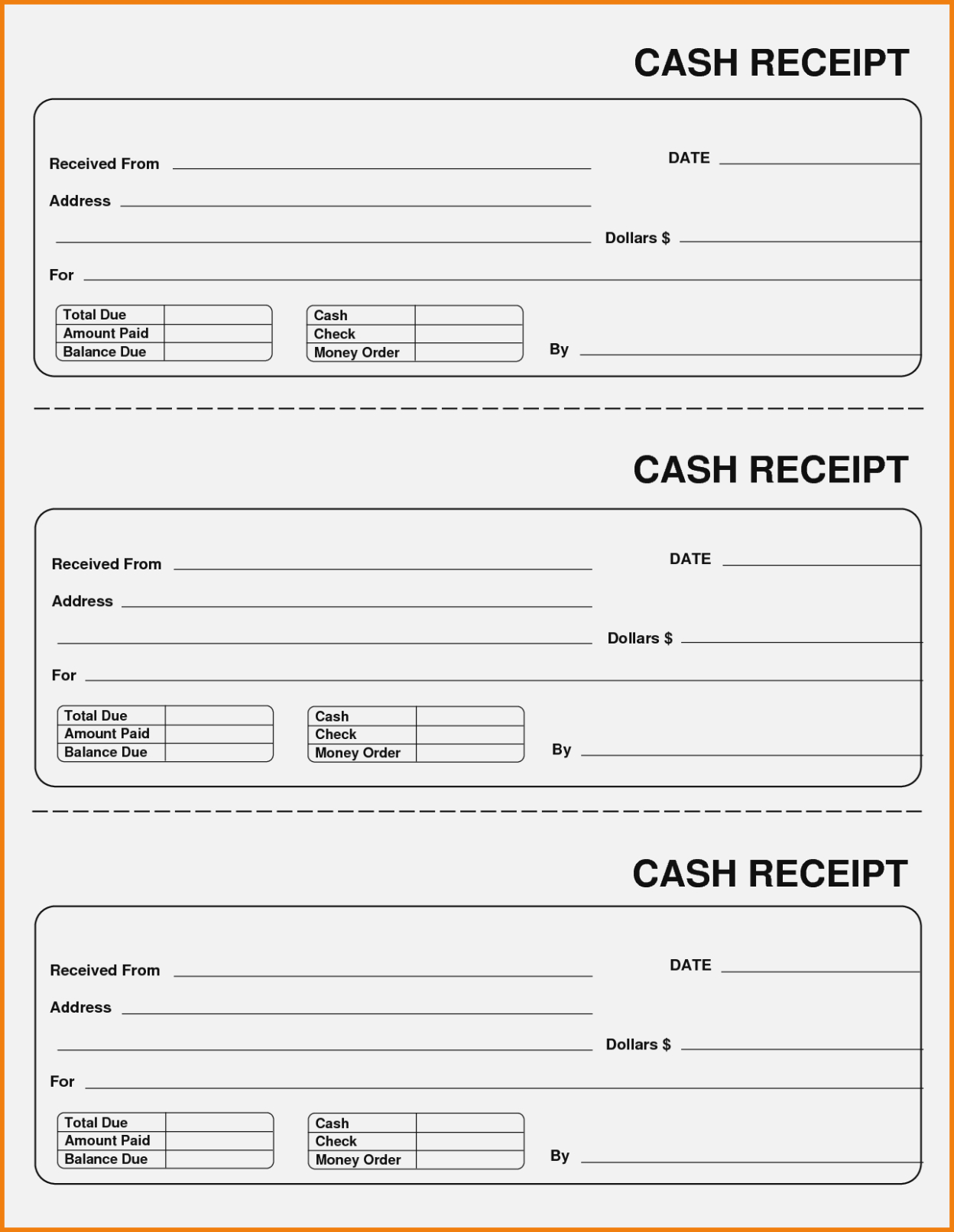 Daycare Receipt Form – Denmar.impulsar – The Invoice And Form Template - Free Printable Daycare Receipts