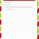 Delightful Order: Christmas Wish List   Free Printable | Delightful   Free Printable Christmas Wish List