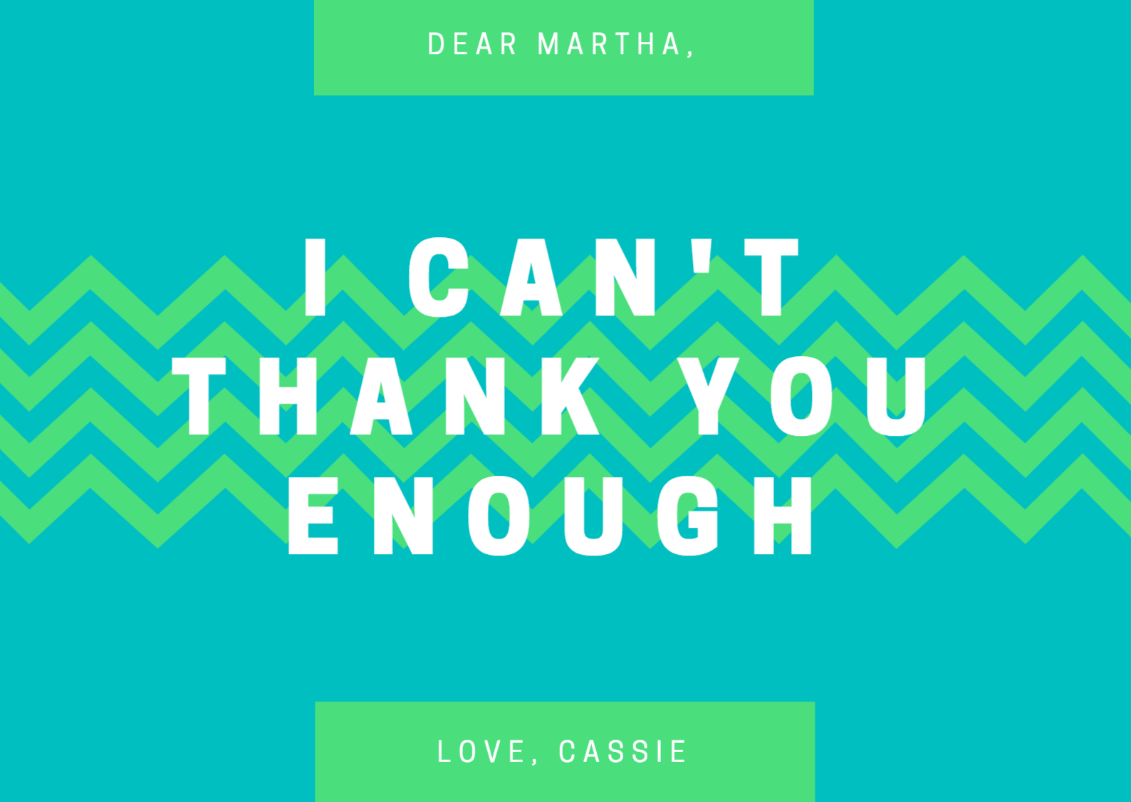 Design A Custom Thank You Card - Canva - Free Printable Custom Thank You Cards