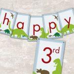 Dinosaur Dig Printable Birthday Party In 2019 | Dinosaur Dig   Free Printable Dinosaur Birthday Banner