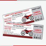 Dirt Bike Invitations Motorcycle Invitation Motocross | Etsy   Motorcycle Invitations Free Printable