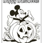 Disney Coloring Pages And Sheets For Kids: Mickey And Friends   Free Online Printable Halloween Coloring Pages