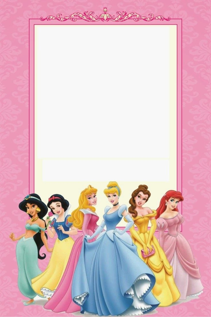 Disney Princess Party: Free Printable Mini Kit. | Free Printables - Disney Princess Birthday Invitations Free Printable