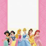 Disney Princess Party: Free Printable Mini Kit. | Free Printables   Free Printable Princess Invitation Cards