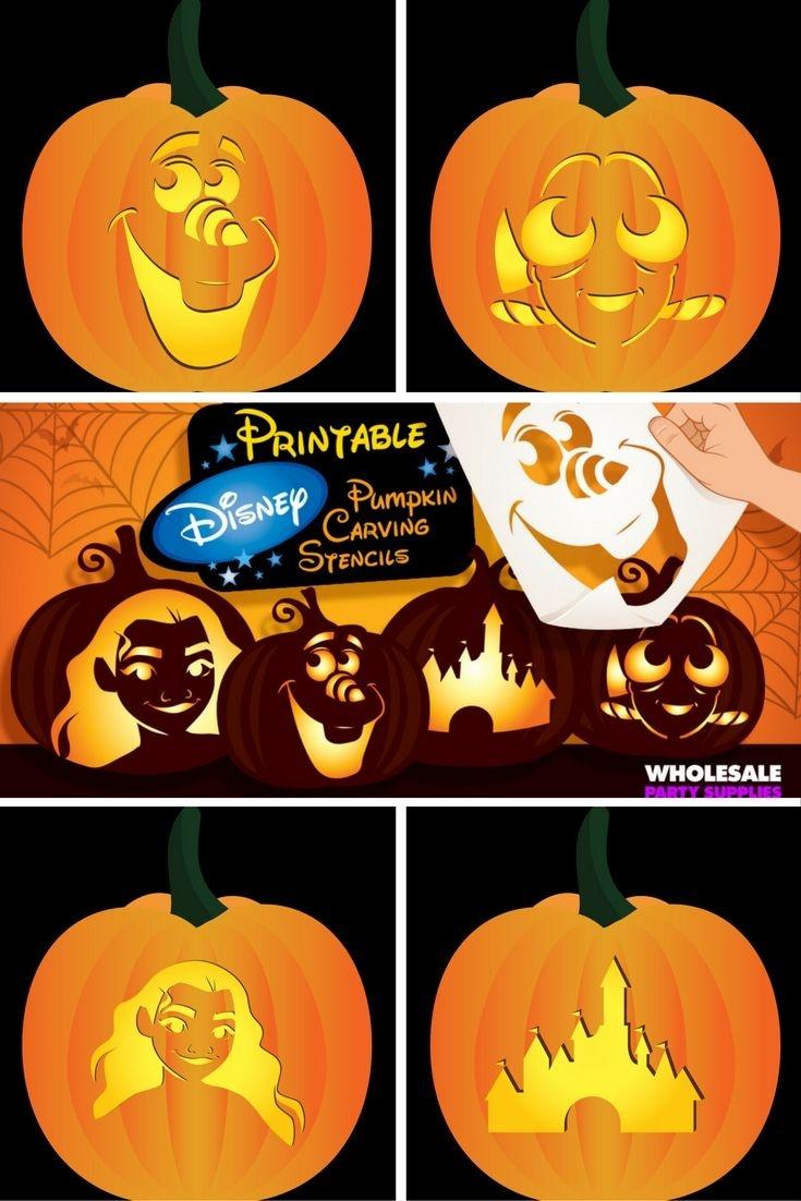 Disney Pumpkin Carving Patterns Free Printable (81+ Images In - Free Printable Toy Story Pumpkin Carving Patterns