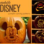Disney Pumpkin Carving Patterns   Frugal Fanatic   Free Printable Lightning Mcqueen Pumpkin Stencil
