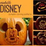 Disney Pumpkin Carving Patterns   Frugal Fanatic   Pumpkin Patterns Free Printable