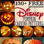 Disney Pumpkin Stencils: Over 130 Printable Pumpkin Patterns   Free Online Pumpkin Carving Patterns Printable