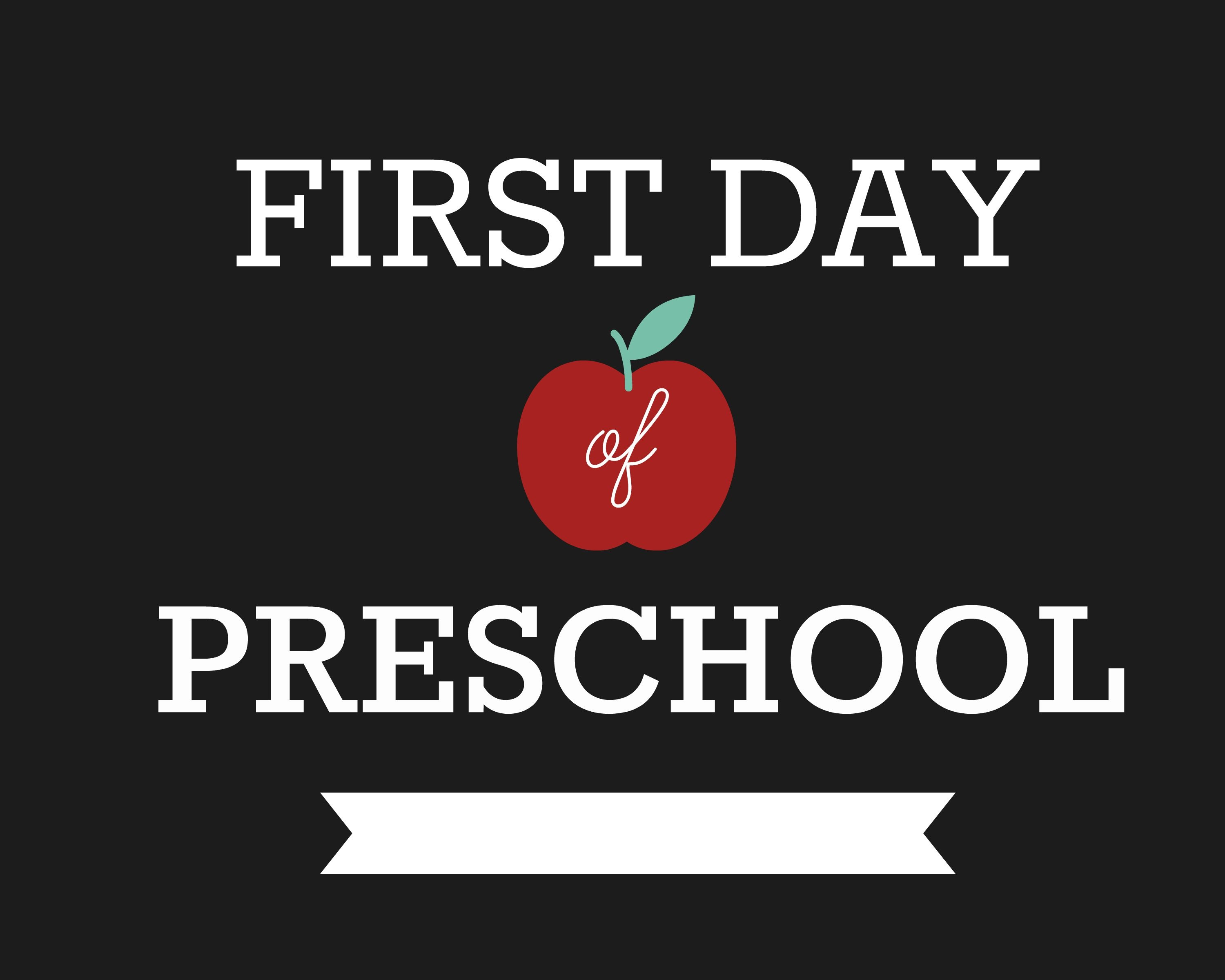 Diy First Day Of School Signs Ruler Craft - Pre-K Up To Grade 12! - Free Printable First Day Of Preschool Sign