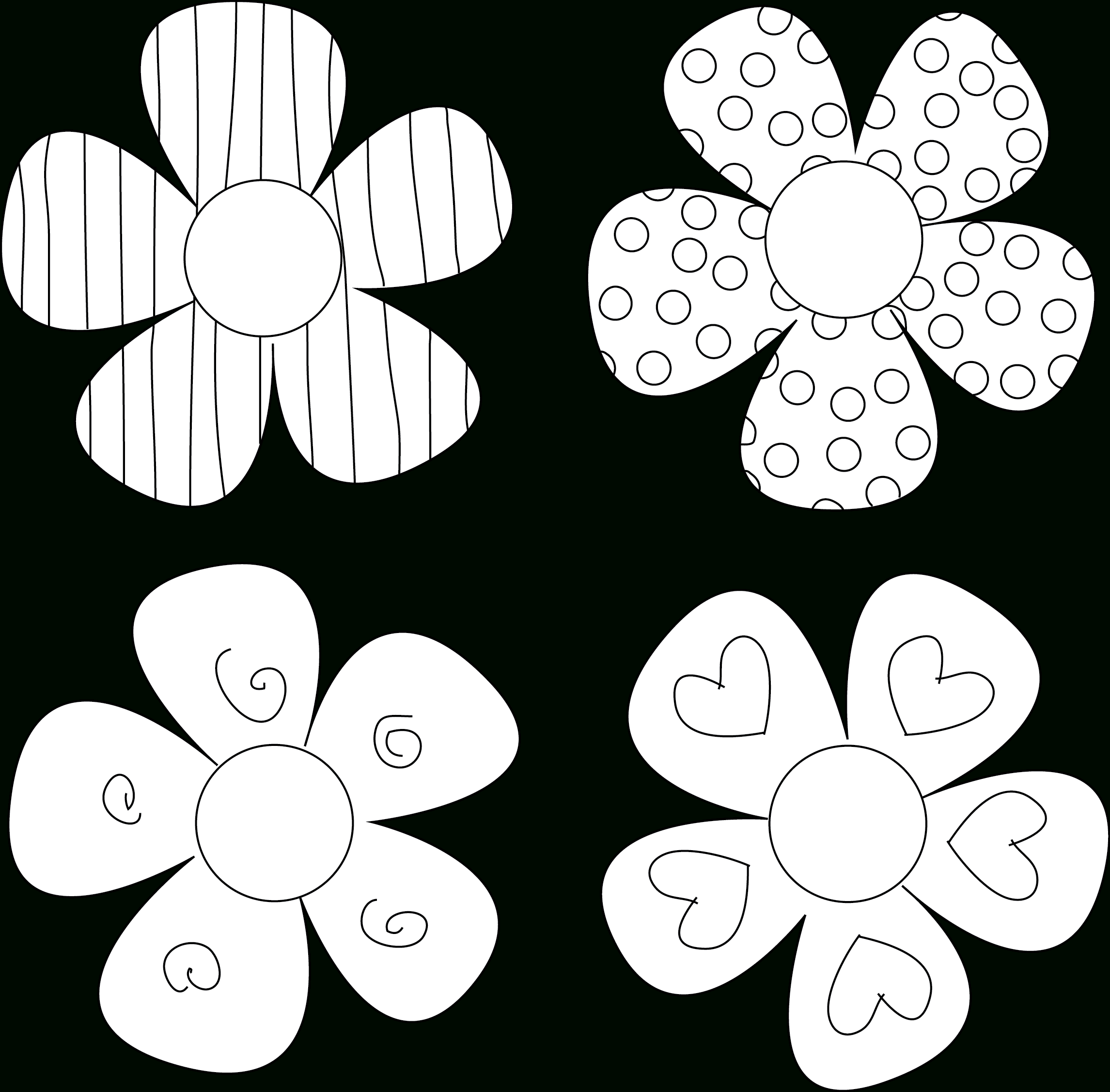 Diy Flower Tutorials You Must Try | 0 - Scanncut Flowers | Flower - Free Printable Flower Applique Patterns