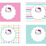 Diy Free Hello Kitty Label | Free Birthday Party Decorations | Hello   Hello Kitty Labels Printable Free