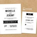 Diy Free Pdf Printable Wedding Invitation And Rsvp | Wedding   Free Printable Rsvp