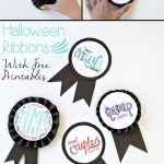 Diy Halloween Costume Award Ribbons (+ Free Printable | Free   Free Printable Halloween Award Certificates