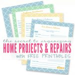 Diy Home Improvement Printables | Keeping A Master Binder Of Home   Free Printables For Home