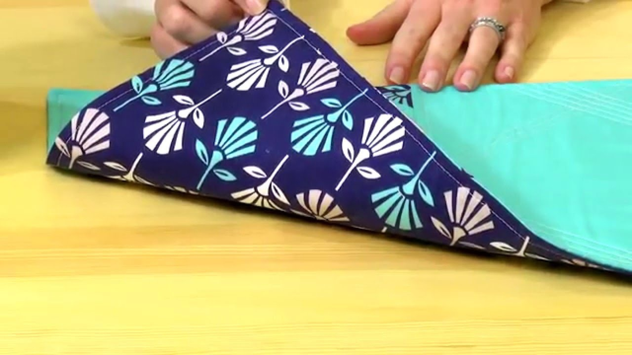 Diy Modern Placemats With The Sewing Loft - Youtube - Free Printable Placemat Patterns