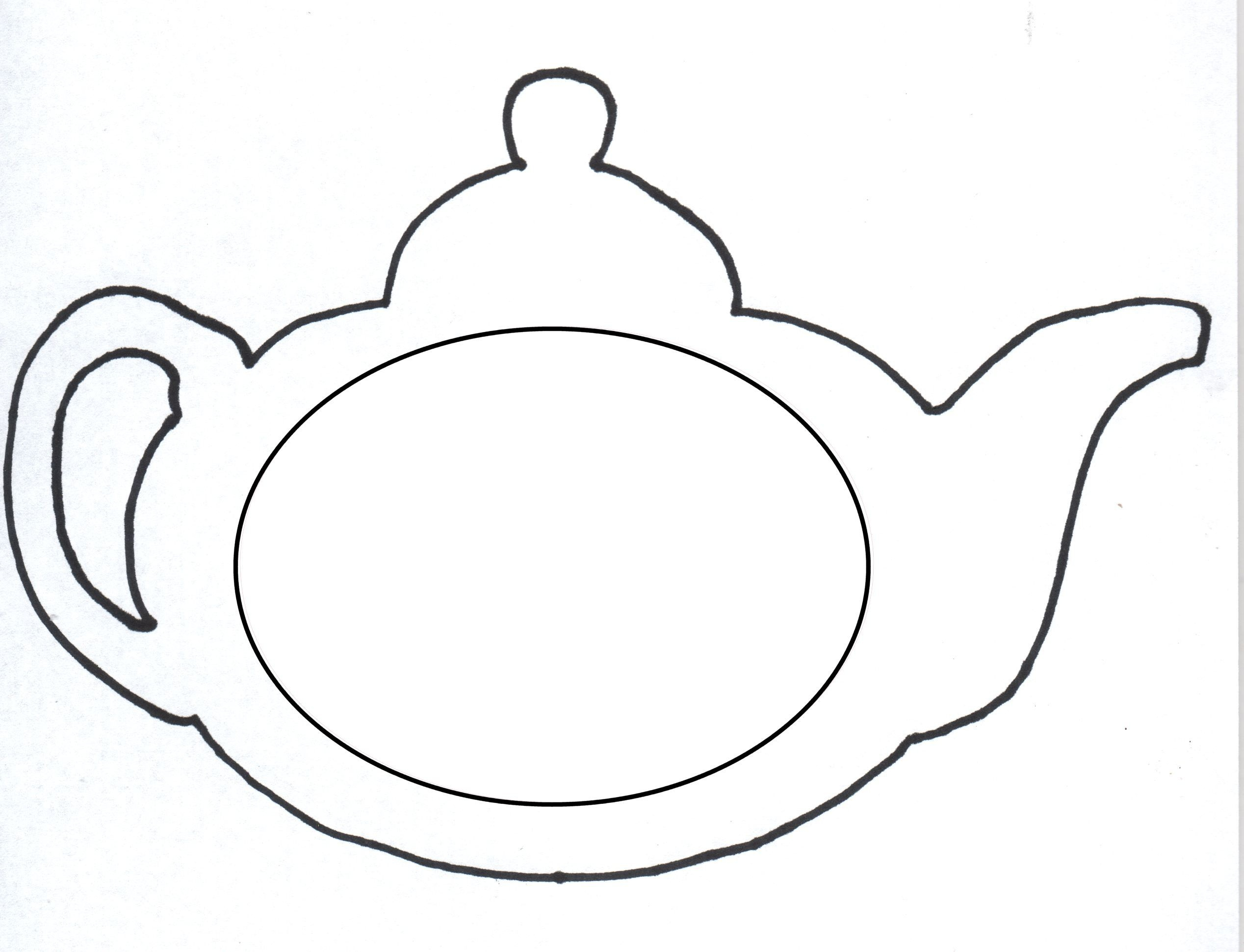 Diy Mother's Day Gift: Teapot Card & Magnet   Lifetime Moms - Free Printable Teacup Template