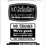 Diy Printable No Soliciting Signs … | No Soliciting Signs | No So…   Free Printable Funny Office Signs