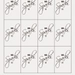 Diy Wedding Sparklers & Free Printable Tags | Printable For Party   Free Printable Wedding Sparkler Sign