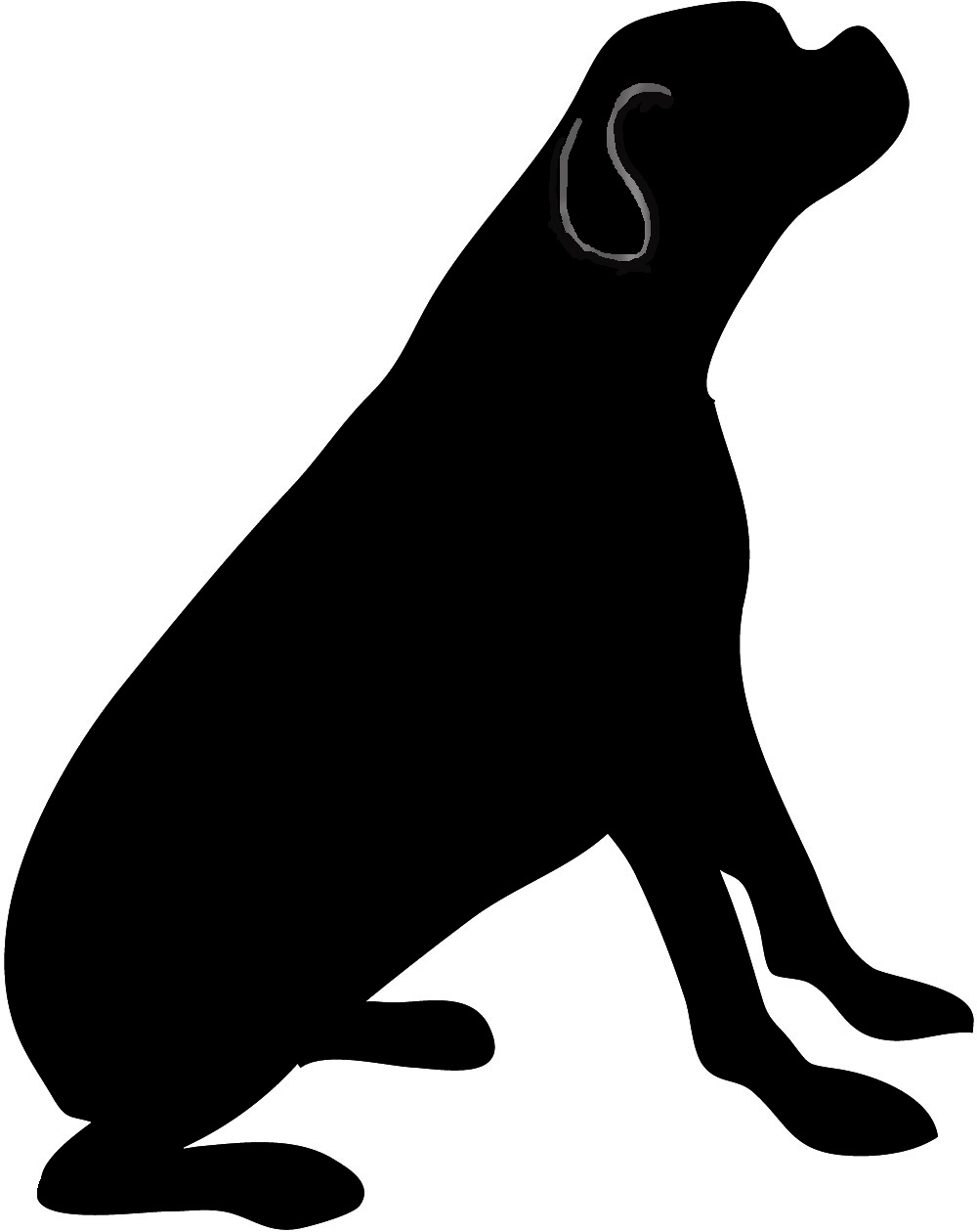 Dog Silhouette - Free Printable Dog Silhouettes