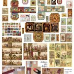 Dollhouse Miniature Printables   Valentine Boxes • Pretty Valentine   Free Miniature Printables