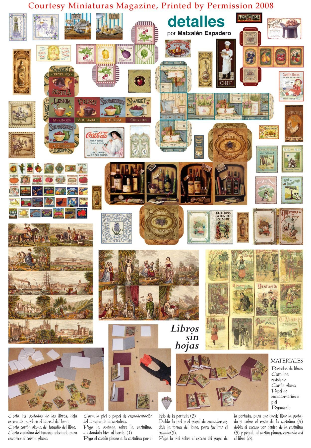 Dollhouse Miniature Printables | Valentine Boxes • Pretty Valentine - Free Miniature Printables
