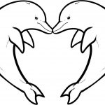 Dolphin Coloring Pages Download And Print For Free | Inspiration   Dolphin Coloring Sheets Free Printable