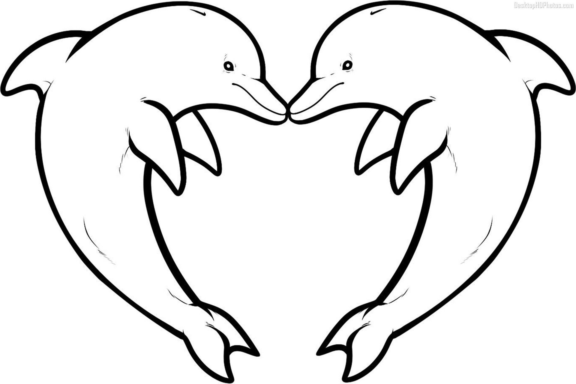 Dolphin Coloring Pages Download And Print For Free | Inspiration - Dolphin Coloring Sheets Free Printable