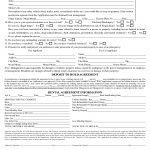 Download Free Arizona Rental Application Form   Printable Lease   Free Printable Rental Application Form