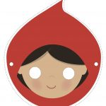 Download Our Free Red Riding Hood Mask And Act Out This Wonderful   Little Red Riding Hood Masks Printable Free