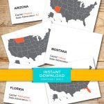 Download State Capital Flash Cards Printable Flashcards   Etsy   State Capital Flashcards Printable Free