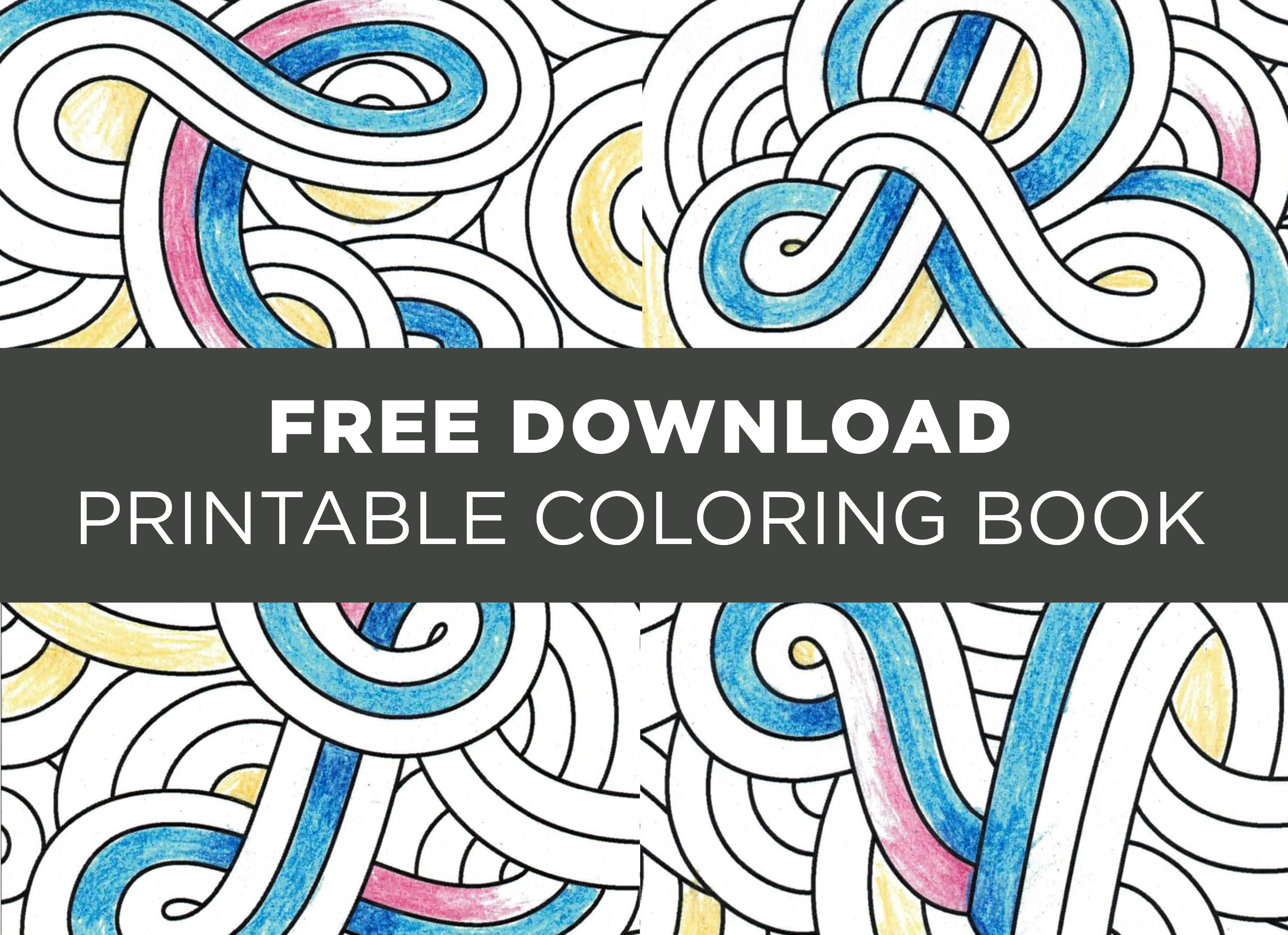 Download The Creativelive Printable Coloring Book - Free Printable Coloring Book