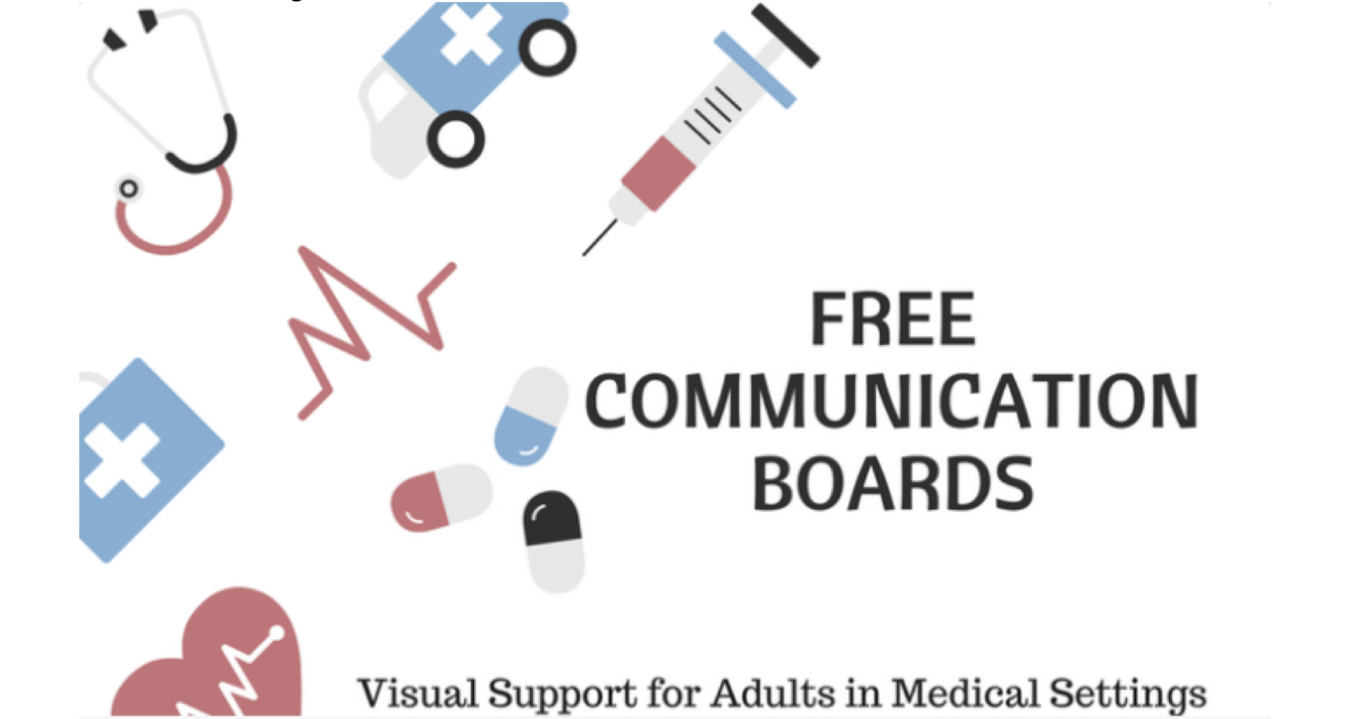 Downloadable Communication Boards For Adults In Health Care Settings - Free Printable Communication Boards For Adults