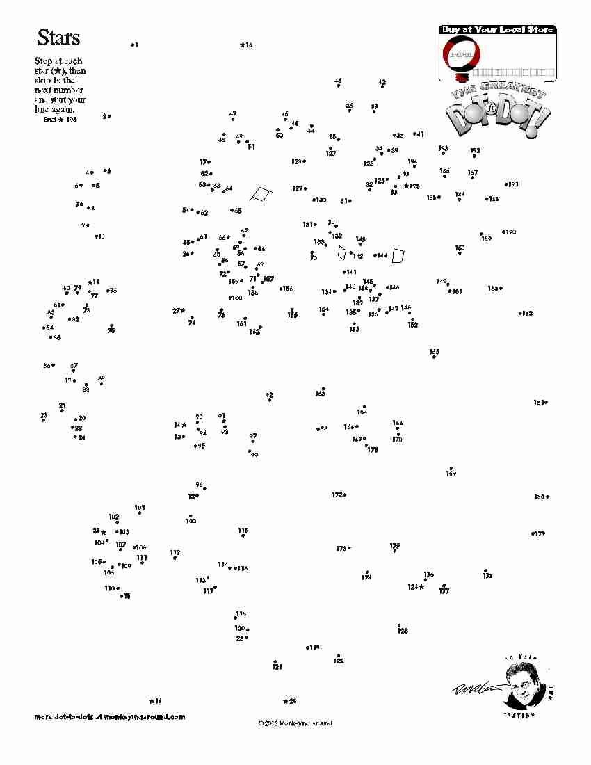 Downloadable Dot-To-Dot Puzzles | Dot To Dot | Dot To Dot Puzzles - Free Printable Dot To Dot Puzzles