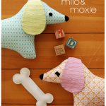 Doxie Stuffed Animal Sewing Pattern Tutorial Pdf Sewing | Etsy   Free Printable Dachshund Sewing Pattern